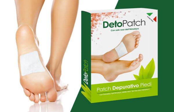 deto patch cerotti detox plantari