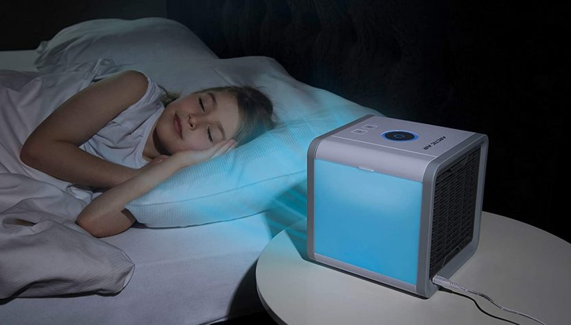 artic air cube raffrescatore portatile